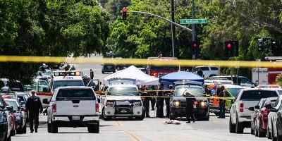 La sparatoria nella scuola di San Bernardino