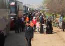 L'attacco ai pullman di civili ad Aleppo