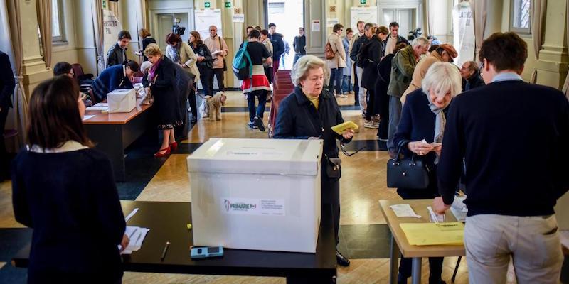 Primarie Pd, il voto a Milano