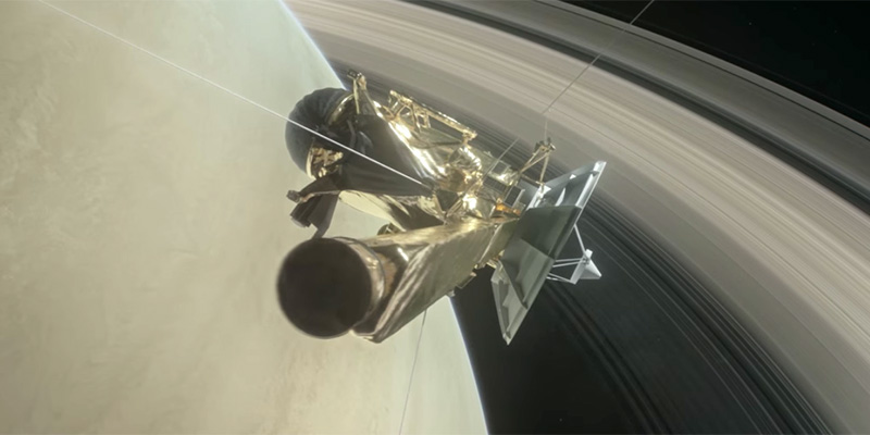 La sonda Cassini pronta a
