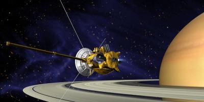 La sonda Cassini e il doodle di Google