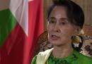 Aung San Suu Kyi ha detto che in Birmania non c'è stata una pulizia etnica