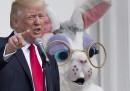 Le foto della prima festa di Pasqua dei Trump alla Casa Bianca