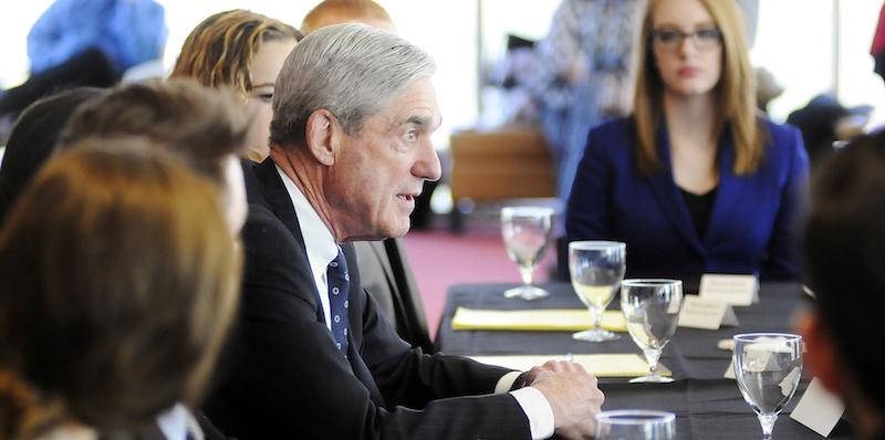 Robert Mueller visits AU