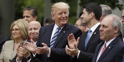 La riforma sanitaria di Trump è passata alla Camera
