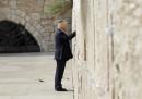 Le foto della visita di Trump in Israele