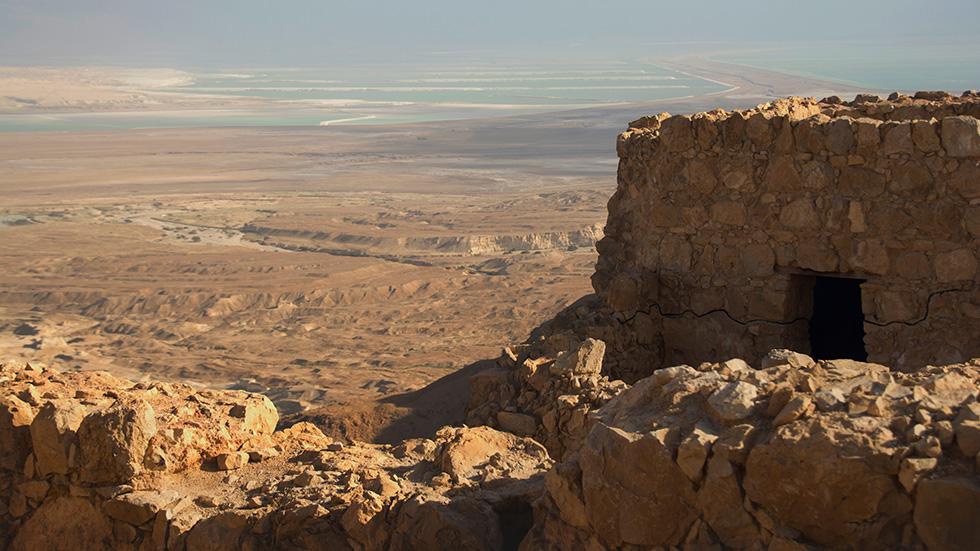 Israel: Judean Desert - Fortification Masada