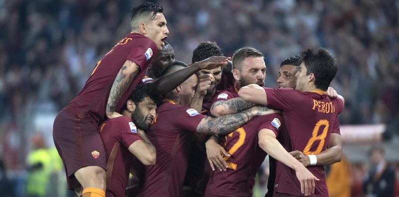 Soccer: Serie A; Roma - Juventus