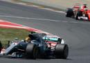L'ordine di arrivo del Gran Premio di Formula 1 di Spagna
