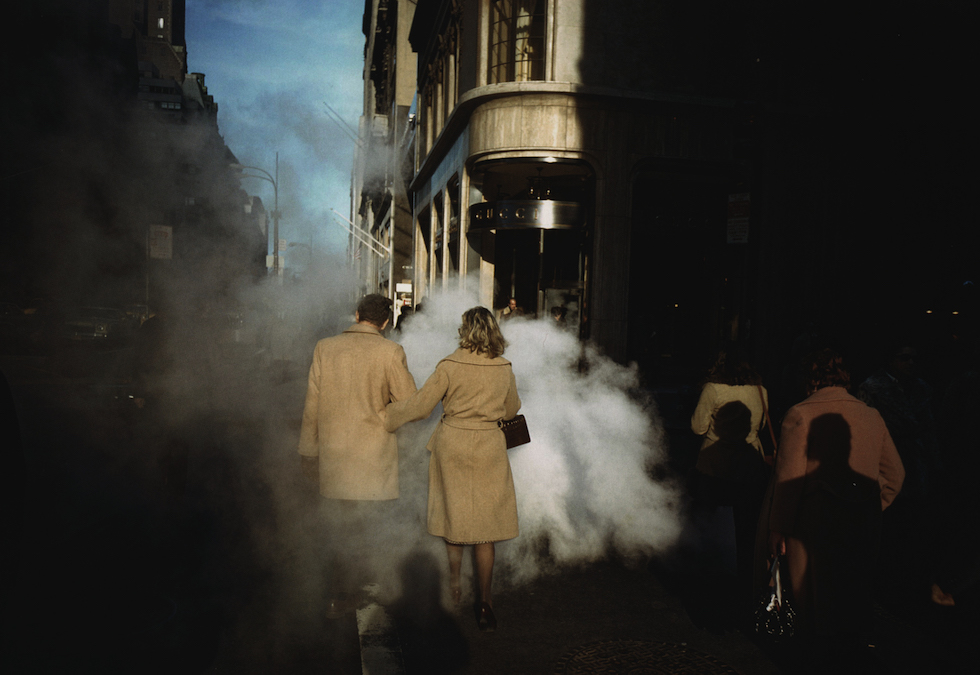 Camel coats, New York City, 1975 © Joel Meyerowitz courtesy Beetles + Huxley