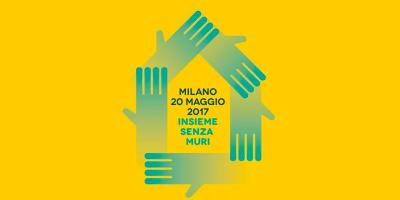 La manifestazione del 20 maggio a Milano a favore dell'accoglienza dei migranti