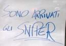Occhio perché a Milano sono arrivati i cecchini (più o meno)