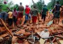 Le foto delle gravi alluvioni in Sri Lanka