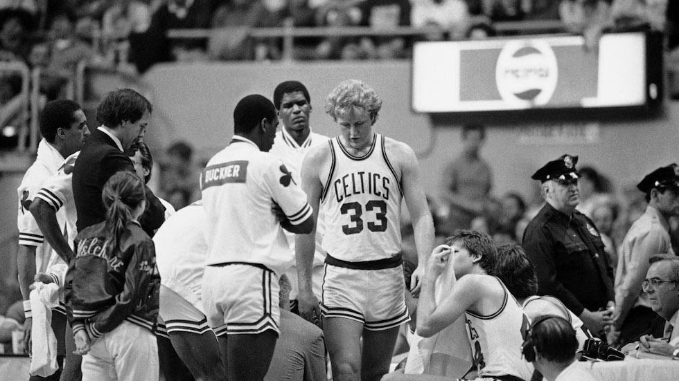Celtics vs Knicks NBA Playoffs 1984