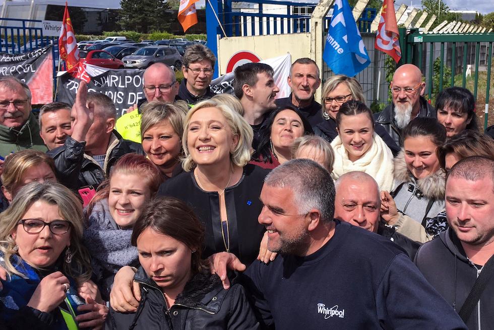 Gli ultimi giorni di campagna elettorale francese for Persiane di campagna francese