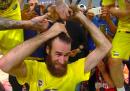 Gigi Datome ha vinto l'Eurolega e quindi ha cambiato pettinatura