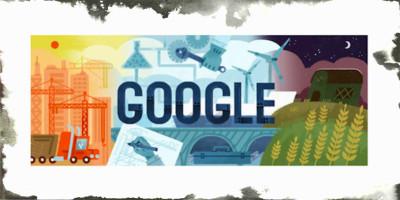 Festa del lavoro: Google la celebra con un doodle