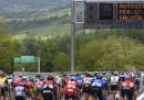 Il Giro d'Italia è passato dall'autostrada