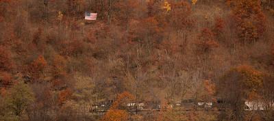 Buttarsi via sui monti dell'Ohio