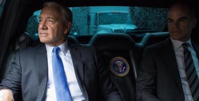 Il presidente Frank Underwood fotografato da Pete Souza