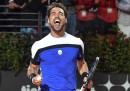 Il tennista Fabio Fognini ha battuto Rafael Nadal e si è qualificato per la finale del torneo di Montecarlo