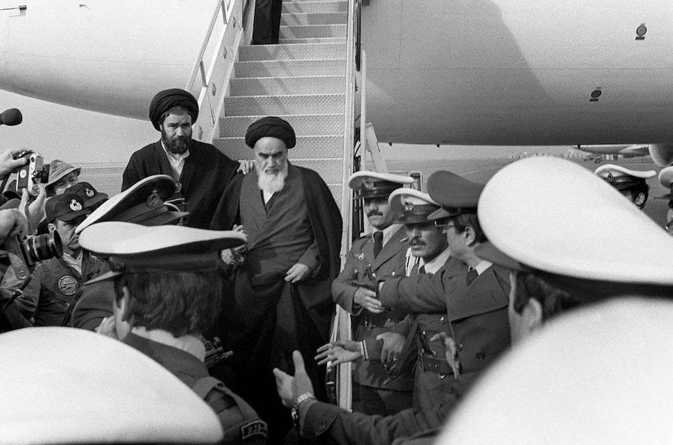 IRAN-FRANCE-TRANSPORT-AIR-HISTORY-KHOMEINI