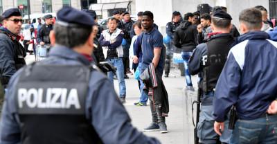 La grande operazione di polizia alla Stazione Centrale di Milano