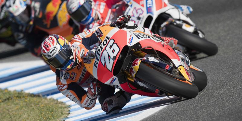 MotoGp, Jerez: Pedrosa primo, Rossi soffre ed è decimo