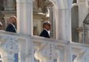 Le prime foto di Obama a Milano