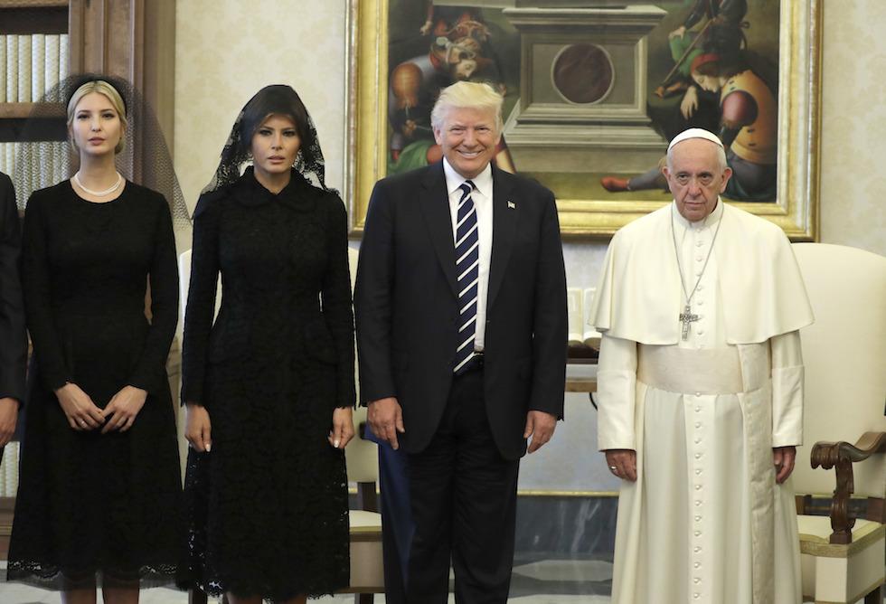 Donald Trump,Melania Trump,Ivanka Trump