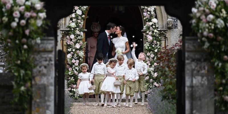 Matrimonio Di Pippa : Le foto del matrimonio di pippa middleton il post