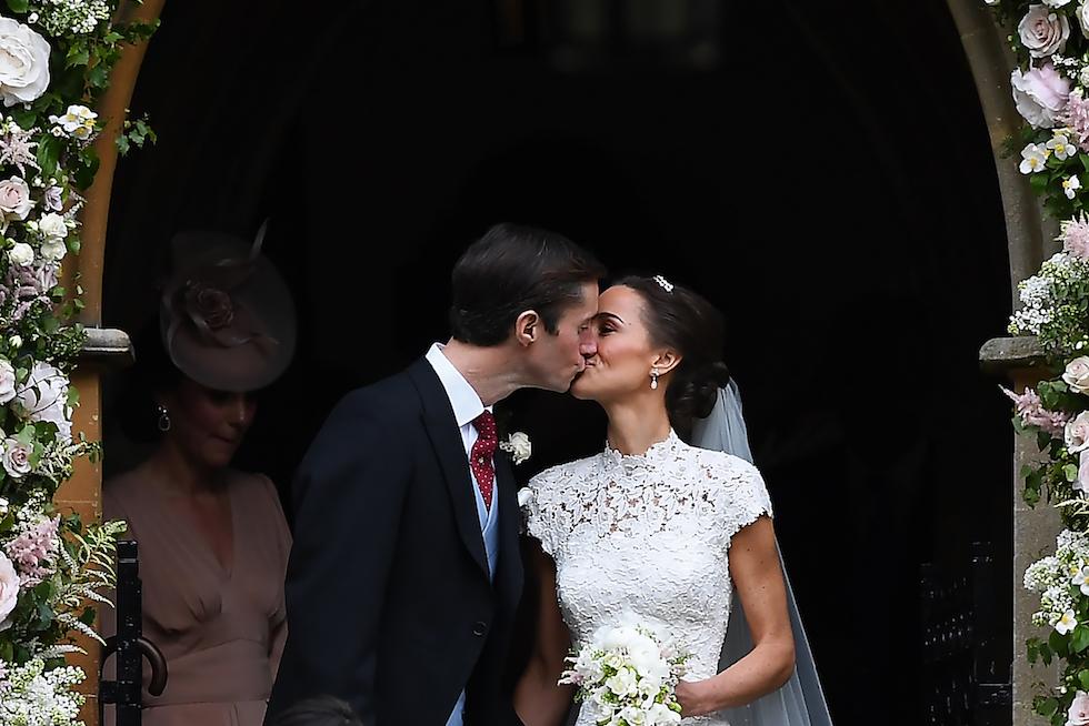 Matrimonio Pippa Middleton : Le foto del matrimonio di pippa middleton il post