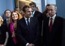 C'era del disagio tra Macron e Putin