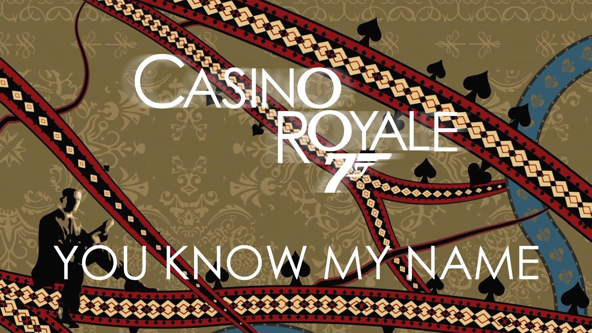 Casino royale canzone famosa