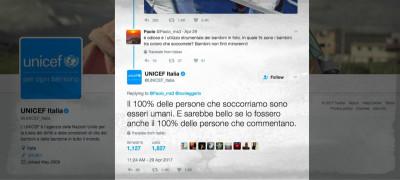 L'eroico social media manager di Unicef Italia