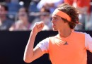 Il tedesco Alexander Zverev ha vinto gli Internazionali d'Italia battendo in finale Novak Djokovic