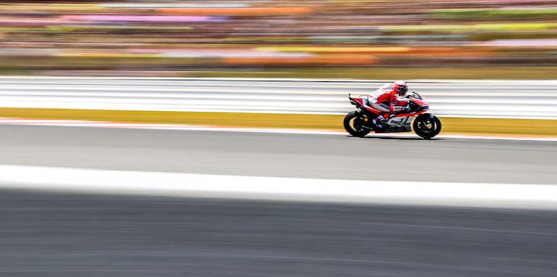Andrea Dovizioso Ha Vinto Il Gran Premio Di Motogp Di Catalogna Il