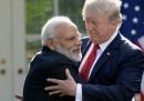 Trump ha detto che toglierà all'India una grossa esenzione dai dazi doganali