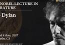 Il discorso di Bob Dylan per il Nobel, infine