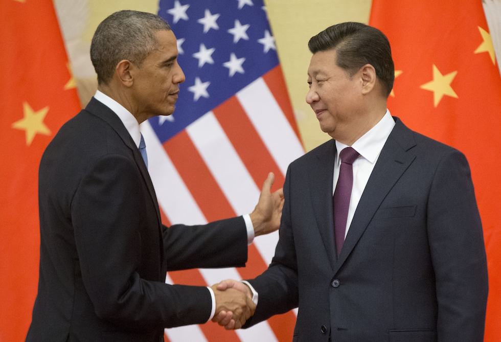 Accordo clima - Barack Obama, Xi Jinping