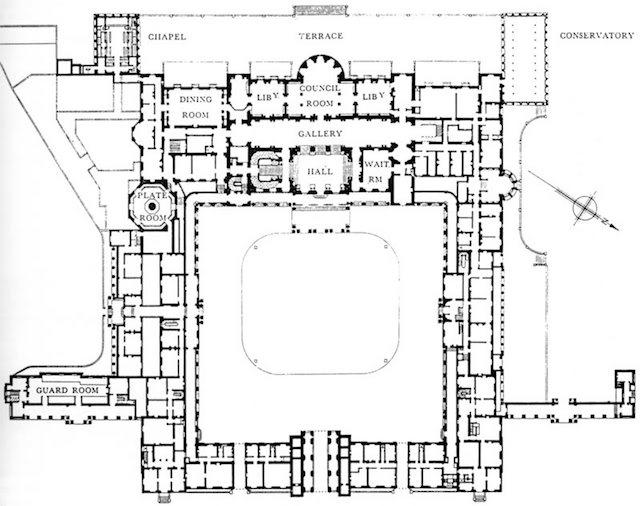 http://www.worldfloorplans.com/floorplans/Buckingham-Palace-Ground-Floor.shtml