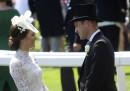 L'arrivo al Royal Ascot della famiglia reale inglese