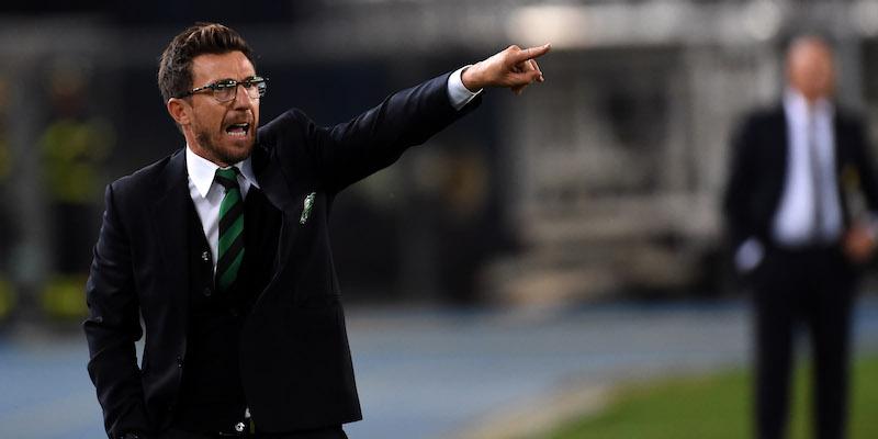 Eusebio Di Francesco, allenatore del Sassuolo fino a giugno 2017. Foto: Pier Marco Tacca/Getty Images.