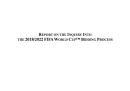 La FIFA e il rapporto Garcia