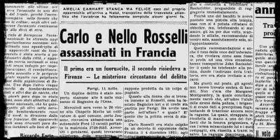 80 anni fa furono uccisi Carlo e Nello Rosselli