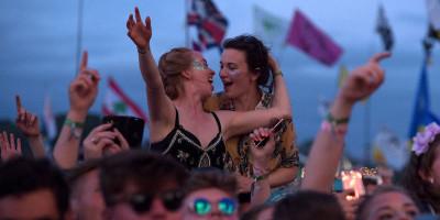 Le foto più belle del festival di Glastonbury