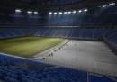 Human Rights Watch sostiene che nella costruzione degli stadi per i Mondiali di calcio in Russia sarebbero morti almeno 17 lavoratori