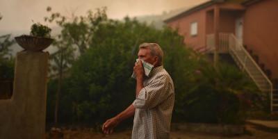 Le foto degli incendi in Portogallo