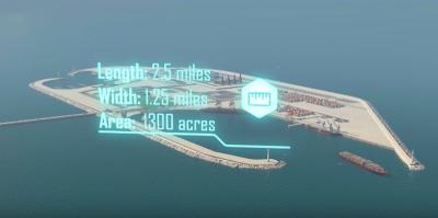 Israele vuole costruire un'isola artificiale vicino a Gaza