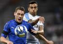 L'Italia ha vinto 3-0 contro l'Uruguay